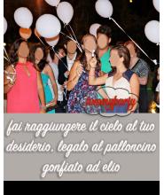 Offerta 30 Palloncini 10/12/14 pollici pastello gonfiati ad elio
