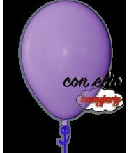 Palloncino viola 12 pollici/cm.30 pastello gonfiato ad elio