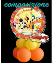 """Mickey e Friends HBirthday S60 18"""""""