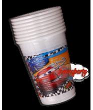 Cars RSN 8 bicchieri plastica