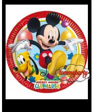 Mickey Playful 8 piatti cm. 23