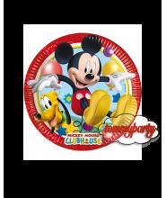 Mickey playful 8 piattini 20 cm.