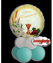 Centrotavola Palloncino Mylar Prima Comunione Lily