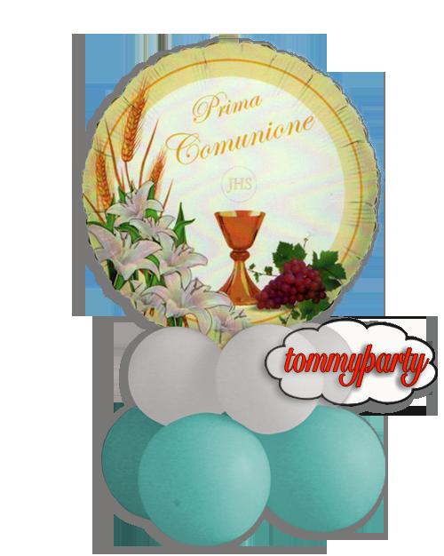 Estremamente palloncini prima comunione per abbellire la sala delle feste o a  CC39