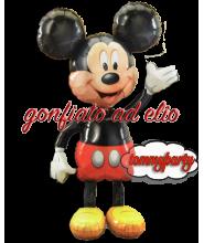 Mickey Mouse Air Walker P80 palloncino gonfiato ad elio
