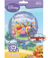 Pooh And Friends 1ST Birthday S60 palloncino