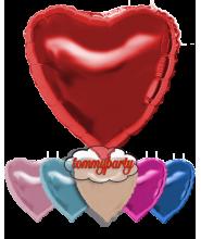 """Palloncino foil deco cuore cm.45/18"""" rosa baby"""