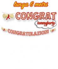 Festone Congratulazioni mt.6