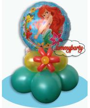 "Ariel mylar 18"" Centrotavola"