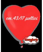 """Palloncini lattice cuore cm.13/5"""" pz.100"""