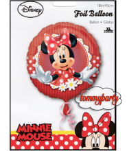 "Minnie 18"" Mad About Anagram palloncino"