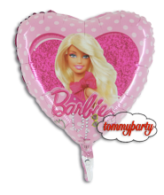 Barbie Cuore a pois palloncino