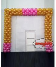 Composizione Arco con 260 palloncini 12 pollici