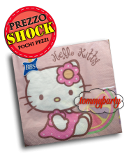 Hello Kitty tovaglioli carta pz.20 33x33