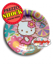 Hello Kitty piatti carta 10 pz. cm.23