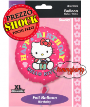 "Hello Kitty Birthday S60 18"" palloncino"