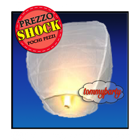 Lanterna Volante Bianca pz.1