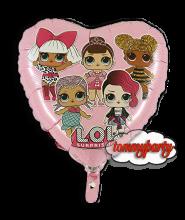 "LOL surprice rosa 18"" palloncino"