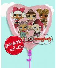 """LOL surprise 18"""" rosa ad elio"""