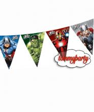 Avengers multi heroes bandierine