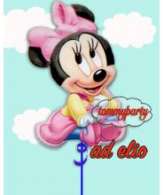 Baby Minnie Super shape composizione ad elio