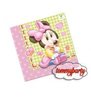 Baby Minnie 20 tovaglioli
