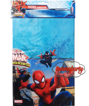 Spider man web warriors tovaglia plast. 120x180