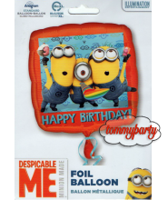 "Minions Happy Birthday 18"" palloncino"