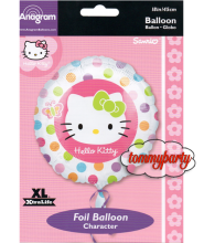 "Hello Kitty Rainbow S60 18"" palloncino"