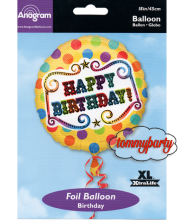 "Circus Birthday s40 18"" palloncino"