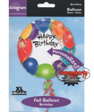 Happy Birthday Balloon S40 18 palloncino