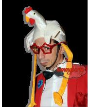 Cappello Pollo in velluto