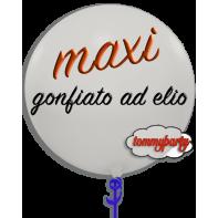 Palloncini Maxi gonfiati ad elio