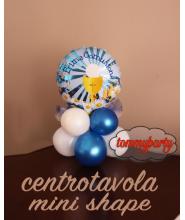"""Palloncino Centrotavola Prima comunione Boy Mylar 9"""""""