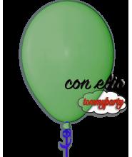 Palloncino verde scuro 12 pollici/cm.30 pastello gonfiato ad elio
