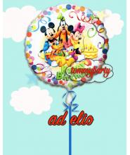 """Mickey e Friends mylar 18"""" composizione"""
