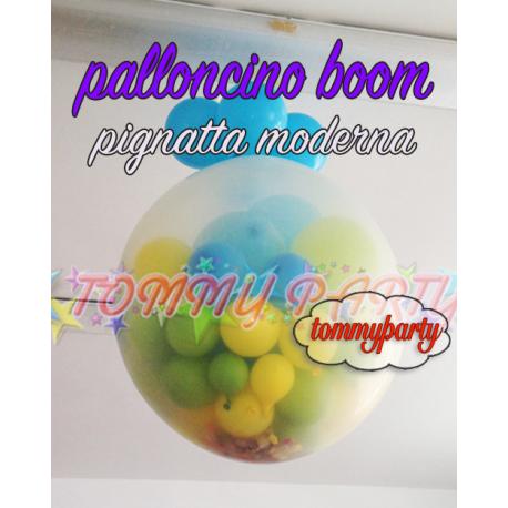Palloncino Boom Trasparente cm.90