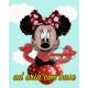 S.S. Minnie Mouse composizione ad elio