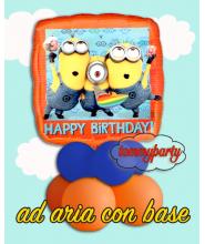 """Minions happy birthday 18"""" composizione"""