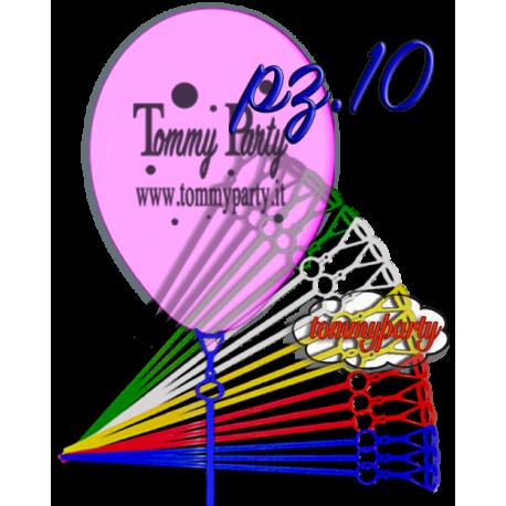 Astina flessibile per palloncini pz.10