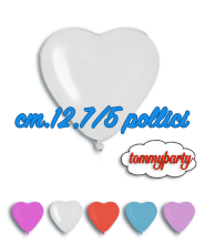 Palloncini lattice cuore cm.13/5""