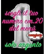 Numero Mylar cm.20 palloncino