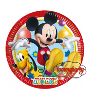 Mickey Playful 8 piatti cm. 23