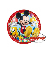 Mickey playful 8 piattini 20 cm.