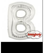 """Lettera B Piccola foil cm.20/8"""" palloncino"""