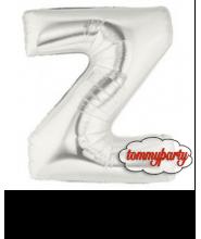 """Lettera Z Piccola foil cm.20/8"""" palloncino"""