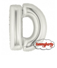 "Lettera D Piccola foil cm.20/8"" palloncino"