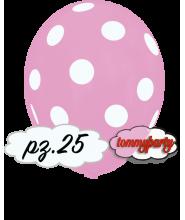 """Palloncini 12"""" stampa globo pois rosa pz.100"""