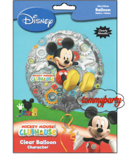 "Clearly Mickey Clubhouse S60 18"" palloncino"