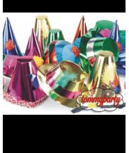 Cappellini Cotillon maxi metallizati pz.50